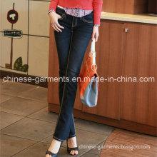 Wholesale Fashion Ladies Demin Trouser Women Jeans