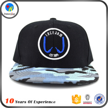 2016 Best selling stylish snapback cap with custom brim