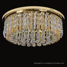 iluminação grande do hotel do cristal do candelabro