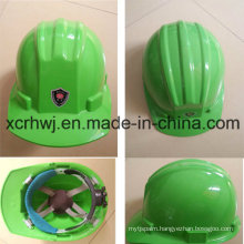 Labor Protection Building Construction Mining Industrial Safety Helmet, High Density Industrial Polypropylene Shell Safety