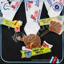 Médailles personnalisées de jouets en métal