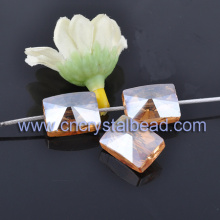 Wholesale Square Loose Crystal Beads