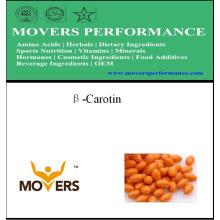 Approvisionnement de source végétale Beta-Carotine Softgel