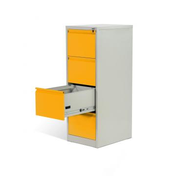 KD Structure 4 Drawer Metal Vertical Filing Cabinets