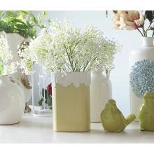 Flores artificiales Decoraciones de boda de plástico Babysbreath