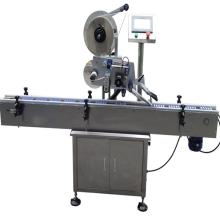 Máquina de etiquetado lineal de alta calidad para etiquetas autoadhesivas con impresora