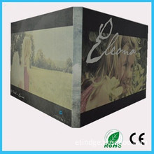 LCD Video Greeting Card/LCD Video Brochure/LCD Video Book for Advertisement, Gift, Education