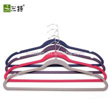 Фабричные вешалки для одежды с резиновым покрытием
