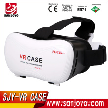 2016 Hot Sale VR BOX Version 5.0 Generation Distance Adjustable 3D Glasses Headset VR box VR Case
