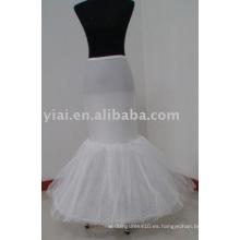 Sirena estilo nupcial vestido de enagua P008