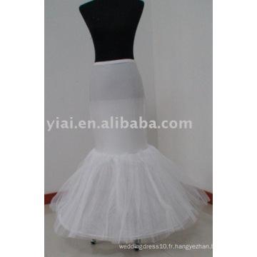 Robe de mariée style mariaine Petticoat P008