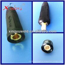 Mig Conector de cable de soldadura / Conector de soldadura Euro
