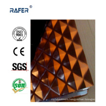 Checkered/Chequered Embossed Steel Sheet with Color (RA-C033)