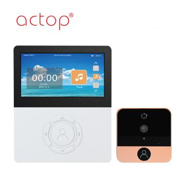 4.5 inch with APP Wifi Video Doorbell Camera