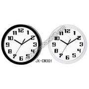 Reloj de pared de plástico