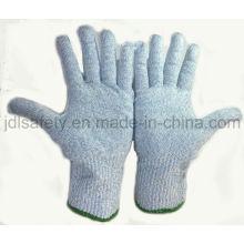 Contact avec les aliments coupés gants de travail résistants (D5202)