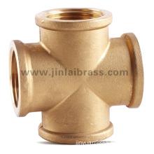 Brass Fitting (JL-798 4Ways FxFxFxF)
