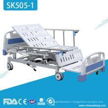 Lit électrique réglable à la maison patient médical d'hôpital d'Icu de SK505-1