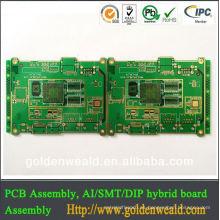 Tablero de circuito de la impresión de FR4 HASL PCB Tablero de control de PC del control del aire acondicionado de China proveedor