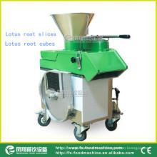 Máquina de corte de aço inoxidável do cubo da raiz dos lótus FC-311, fatiador
