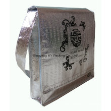 OEM Order Promotional Metallic Laminated Nonwoven Bag