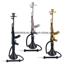 Vente en gros 2016 Zinc Alloy Mob Hookah Gun Ak47 Hookah