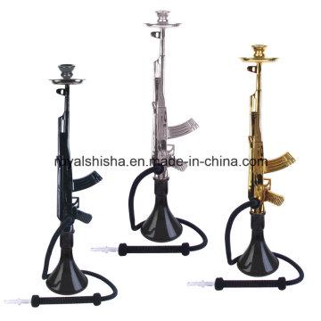 Großhandel 2016 Zink-Legierung Mob Hookah Gun Ak47 Huka