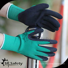 SRSAFETY 13G gant revêtu de latex, gants de main industriels