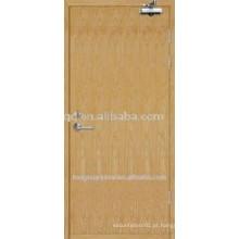 Porta de madeira com resistência resistente ao fogo BS