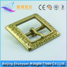 Chinese classical style belt accessories antique brass belt buckles bag accessories