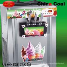 Edelstahl Softeis-Eismaschine