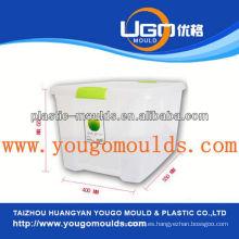 2013 Los nuevos moldes plásticos del envase del almacenaje del hogar y buen precio inyectan el molde de la caja de herramientas