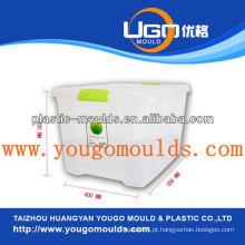2013 Misturas novas para recipientes de armazenamento de plástico para uso doméstico e moldes de caixa de ferramentas para injeção de bom preço