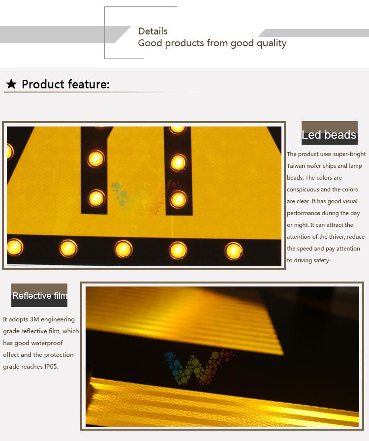 Aluminum Solar Traffic Sign Board_03