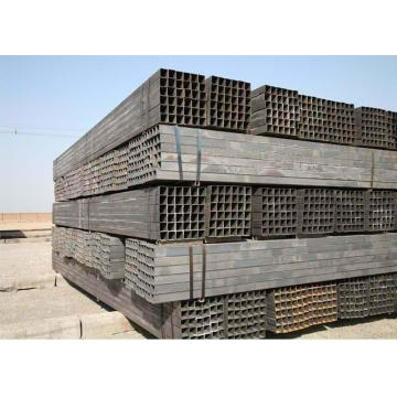 China wholesale ms black mild steel square pipe / tube 100x100