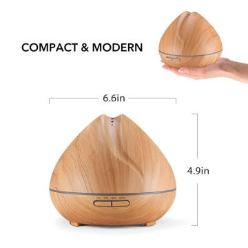 Wooden Paint Ultrasonic Aromatherapy Diffuser 400ml