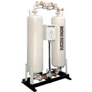 Regeneración con aire secador (DH12-DH2000)