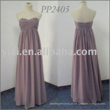 PP2405 Sweetheart sem mangas Chiffon vestido de dama de honra 2013