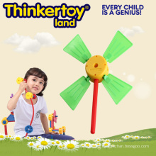 Windmill Plastic Mini Garden Play Toy