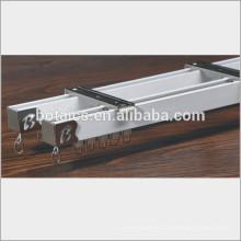 Aluminium-Legierung Schiebefenster, schwere Vorhang Spuren Vorhang Schienen gleiten