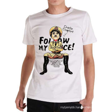 Custom Design Fashion Printing Wholesale Summer Men′s T Shirt