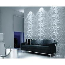 El vacío hecho en fábrica formó los paneles de pared plásticos 3d