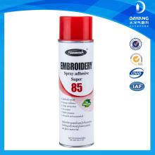 Colantes de cola de pulverização de pulverização super aerosol para roupas e roupas íntimas