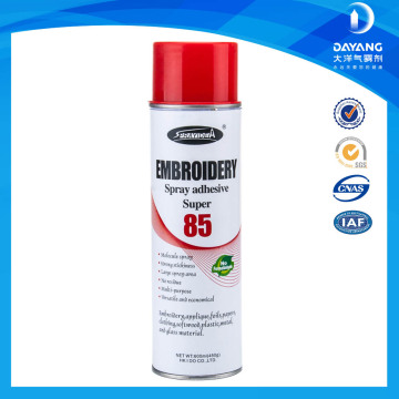 Adhesivos de cola para pulverización en aerosol para ropa y ropa interior