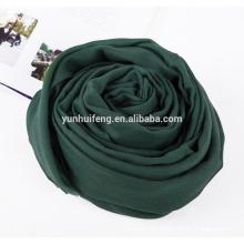 Alta calidad Cashmere.wool shawl.scarf color sólido