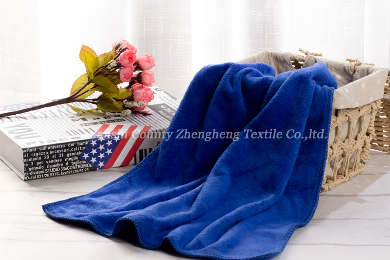 Weft Knitting Microfiber Towel-012