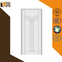 Venta superior pintado puertas mdf, puerta abatible de madera, puerta de gabinete de cocina pvc