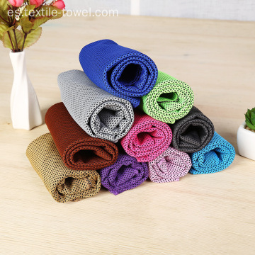 A granel doble capa Sports Cooling Towel Fitness Towel