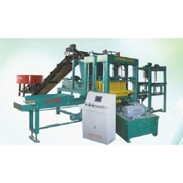 Cement Automatic Brick Making Machine Block Making Machine (Qt4-10)
