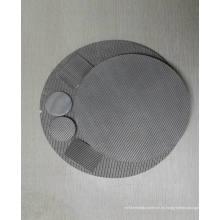 Filtro de disco utilizado en la industria farmacéutica, química y alimentaria